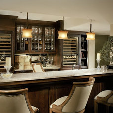 traditional wine cellar by bw design group