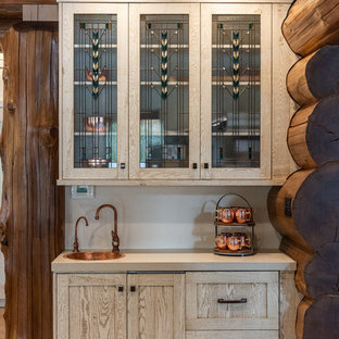 cadf3590283 75 Most Popular Home Bar with Glass-Front Cabinets Design Ideas for ...
