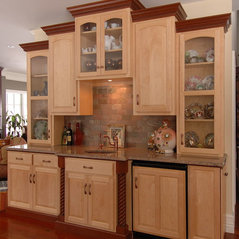 Custom Cabinets Light And Dark