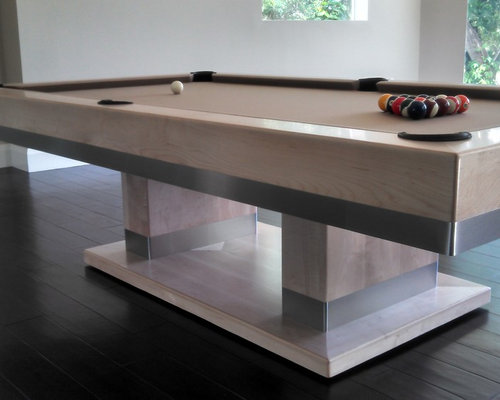 Modern billiard table ideas pictures remodel and decor - Billard table moderne ...