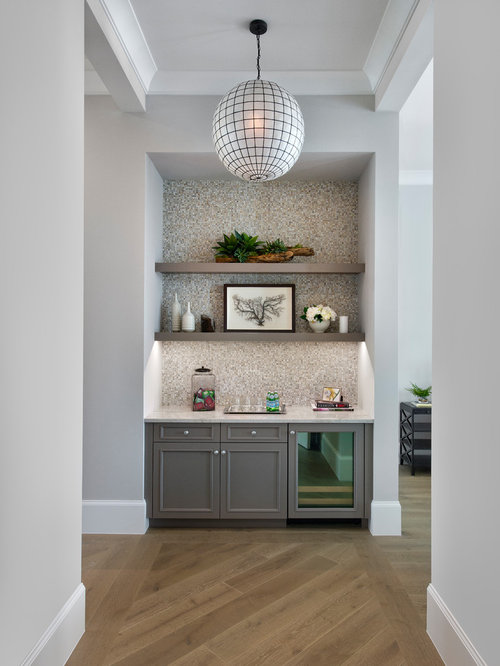 Wet Bar Design Ideas Renovations Amp Photos With Mosaic