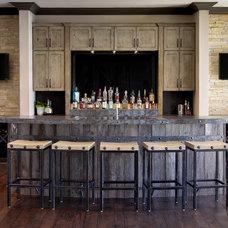 Rustic Home Bar by MB Designs, LLC