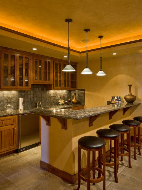 rustic albuquerque home bar design ideas remodels photos