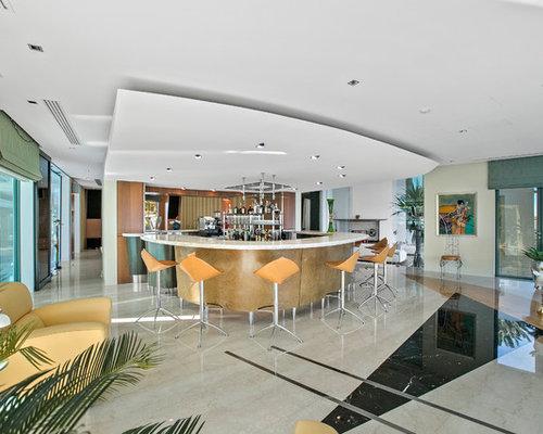 Contemporary Home Bar Design Ideas, Renovations & Photos