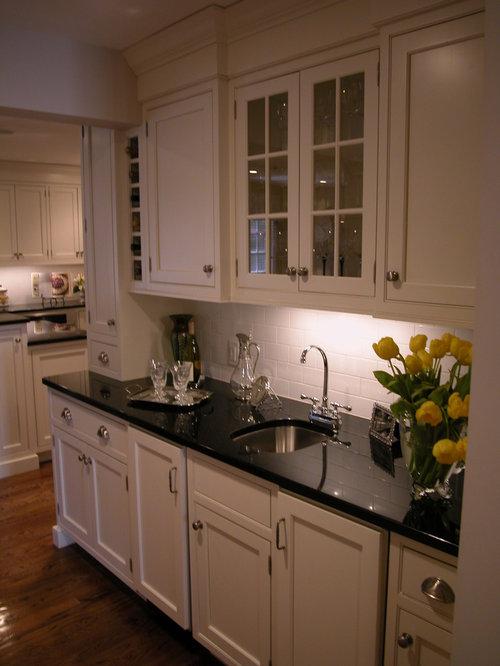 Black Granite Kitchen Ideas, Pictures, Remodel and Decor