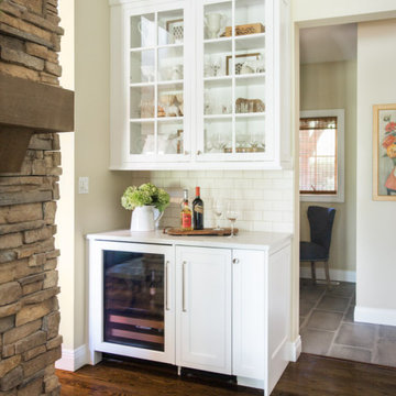 Clean and Crisp Rustic Kitchen Remodel
