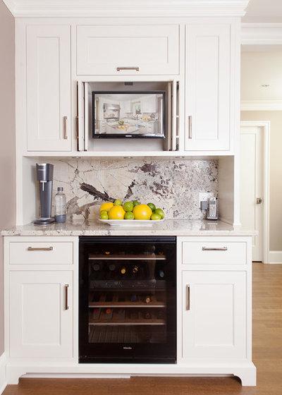 Classique Bar de Salon by V6B Design Group -  Kitchens & Fine Cabinetry
