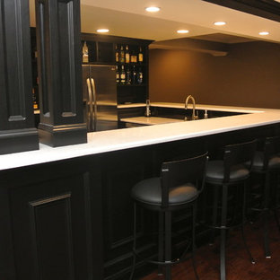 Inspiration for a home bar remodel in Other