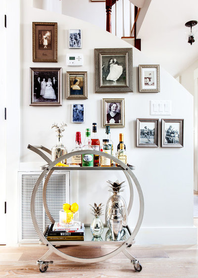 How To Set Up And Style A Bar Cart Houzz
