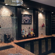 Traditional Home Bar by Dominion Craftsman Services