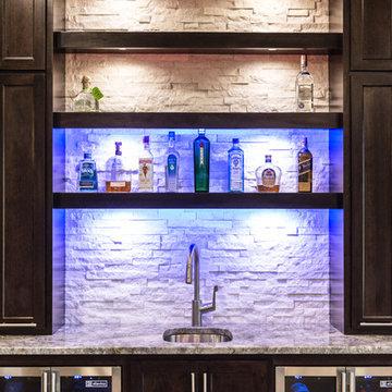Contemporary Bar & Display