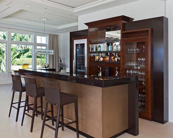 7,352 Stand Alone Bar Contemporary Home Design Photos