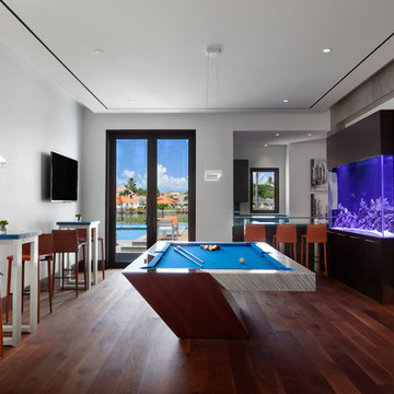 Contemporary Residence in Port Royal, Naples