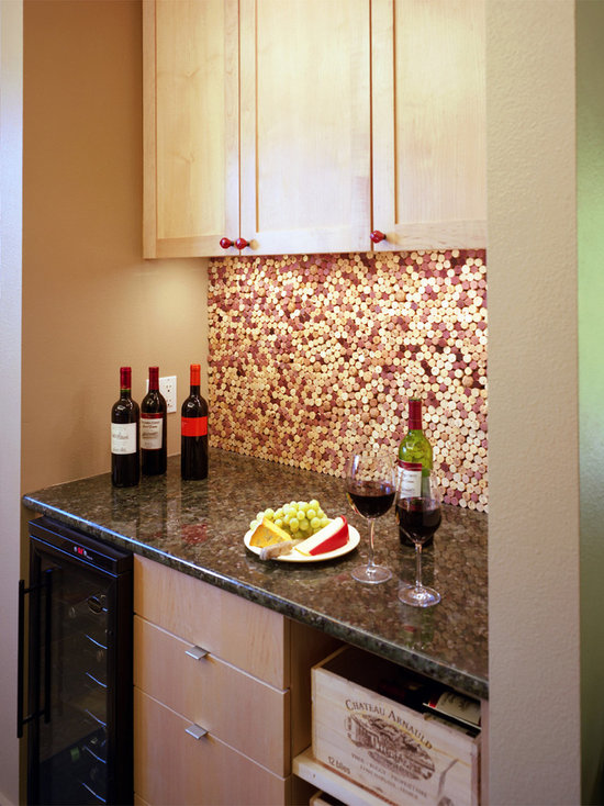 Amazing Wine Cork Backsplash Part - 6: Wine Cork Backsplash