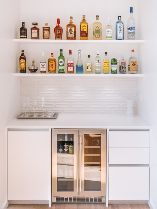 75 Modern Home Bar Design Ideas - Stylish Modern Home Bar Remodeling ...