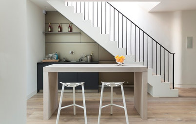 Inventive Ways to Build Storage Into Your Staircase