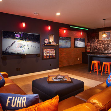 Coventry Homes Oilers® Fan Cave - Newcastle Showhome