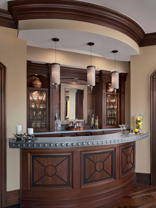 Round Bar Top Houzz