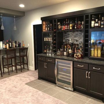 Custom Bourbon Bar