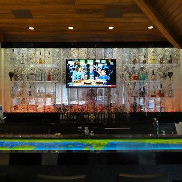 Custom Bubblewall for Private Residence - Ocala, FL