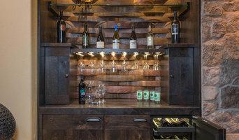 Custom Built In Wine Storage