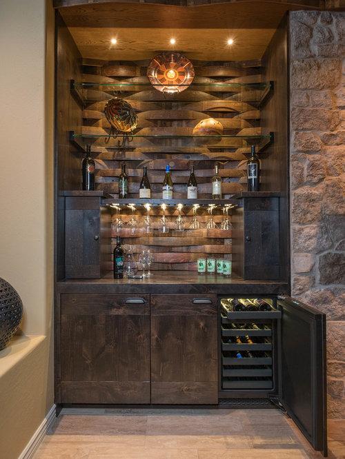 petit bar de salon sud ouest am ricain photos et id es d co de bars de salon. Black Bedroom Furniture Sets. Home Design Ideas
