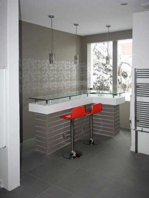 hausbar mit glas arbeitsplatte einrichten ideen design. Black Bedroom Furniture Sets. Home Design Ideas
