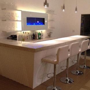 Custom Mid Century Modern Bar