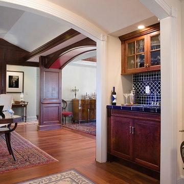 Custom Paneled Room