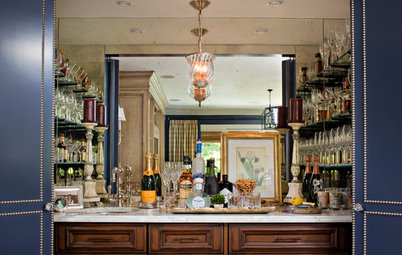 10 Bar Cabinets That Ring in the Good Times