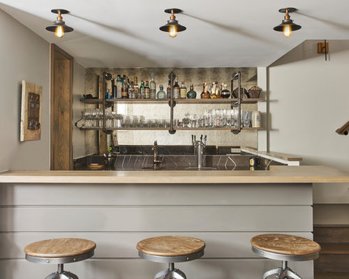 Best 100 Contemporary Home Bar Ideas Remodeling Photos Houzz