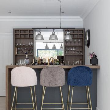Dark Grey Shaker Kitchen