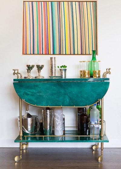 Di transizione Angolo Bar by Bennett Lerner Interiors
