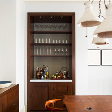 Transitional Wine Cellar by Damon Liss Design