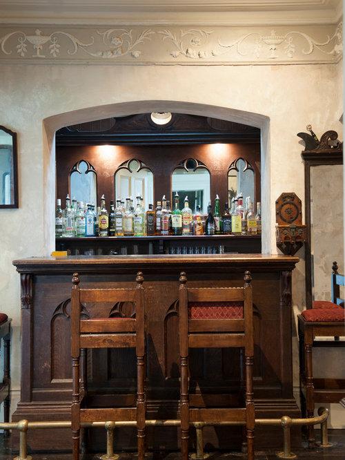 Petit bar de salon victorien photos et id es d co de bars de salon - Petit bar de salon ...