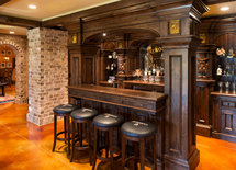 How much did the bar cost to build?