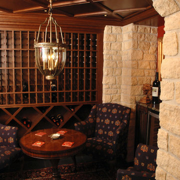 English-Style Basement Pub