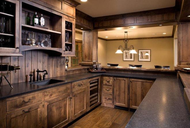 Craftsman Home Bar by Stonewood, LLC