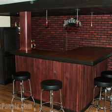 Transitional Home Bar by FauxPanels®