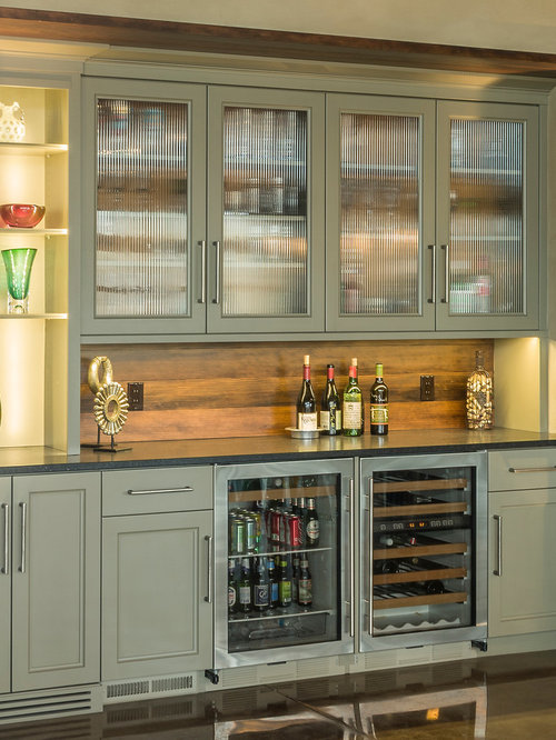 Coffee Bar And Mini Fridge In Master Bat Home Design Ideas ...