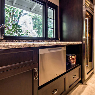 Fisher Paykel Drawer Dishwasher in Home Bar of Wine Room