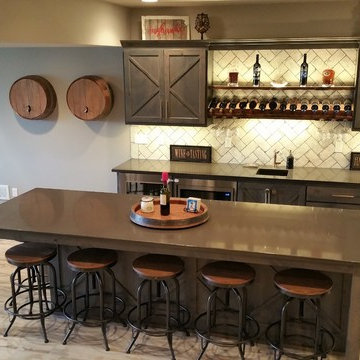 Fit and Fun basement finish. In overland Park