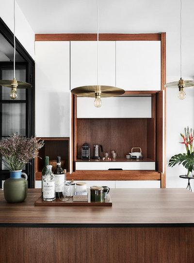 Skandinavisk Hjemmebar by Icon Interior Design Pte Ltd