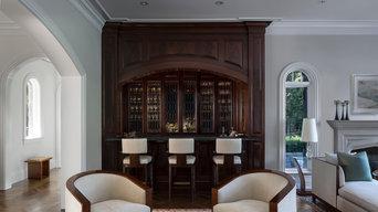 Formal Living Room Bar