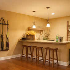 Farmhouse Home Bar by Adrienne DeRosa
