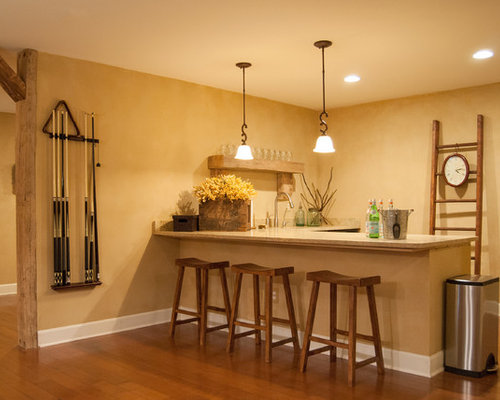 L Shaped Wet Bars Houzz