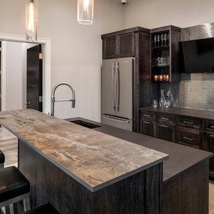 Gorgeous Modern Home w/ Dark Wood and Cambria Quartz Countertops