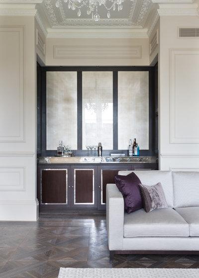 Modern Home Bar by Cochrane Design