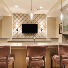 Contemporary Home Bar by Great Neighborhood Homes