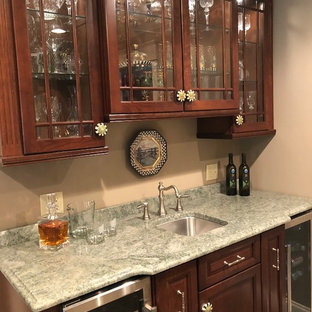 Hamburg - Wet Bar with Light Green Granite